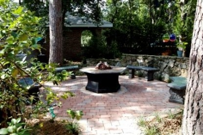 Far View A Bed & Breakfast Estate fire pit