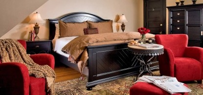 Castle in the Country Bed & Breakfast Inn-Crowning Suite