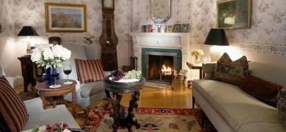 The Maples Inn, , fireplace