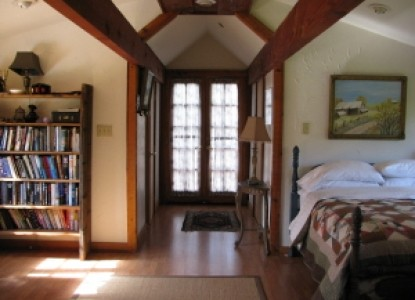 Yosemite Rose Bed & Breakfast, library
