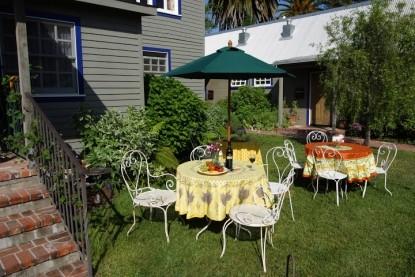 Lavender, A Four Sisters Inn, patio