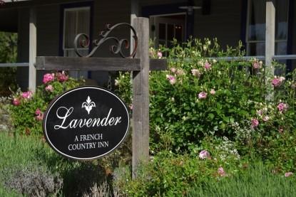 Lavender, A Four Sisters Inn,  marquee