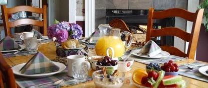 Green Gables Inn | Four Sisters-Breakfast