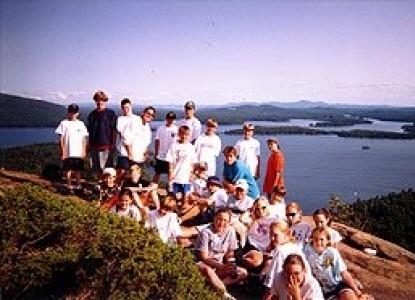 Mountain Fare Inn, group photo