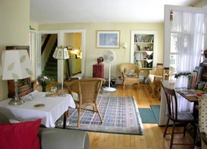 Mountain Fare Inn, living room