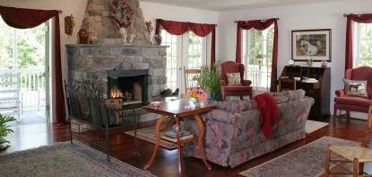 The Inn at Westwynd Farm, living room