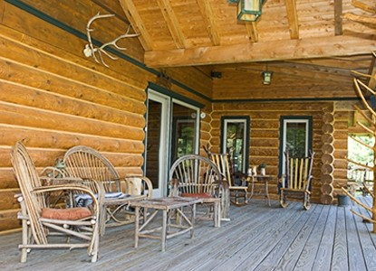 Moose Meadow Lodge, patio