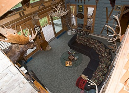 Moose Meadow Lodge, The Great Room