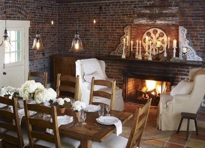 Maison Fleurie, A Four Sisters Inn, fireplace