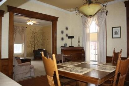 The Barn Inn Bed & Breakfast dining area