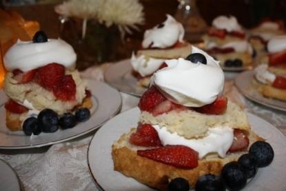 The Barn Inn Bed and Breakfast berries