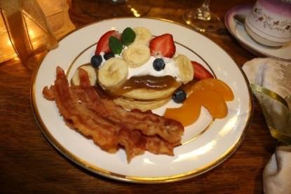 The Barn Inn Bed and Breakfast food
