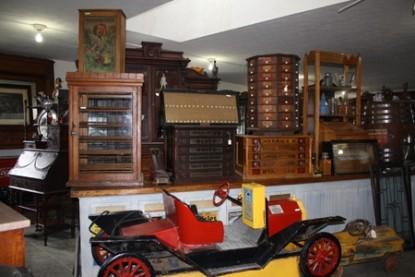 The Barn Inn Bed and Breakfast shelves