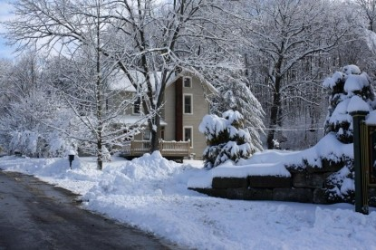 The Barn Inn Bed and Breakfast snow