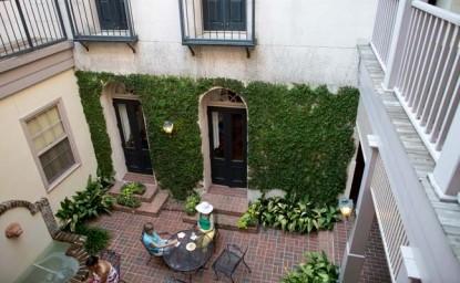 Kings Courtyard Inn Bed & Breakfast balcony