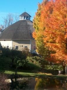 The Inn at the Round Barn Farm trees