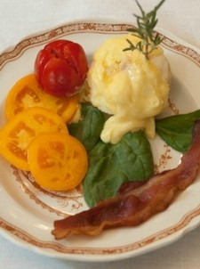Mill Street Inn breakfast
