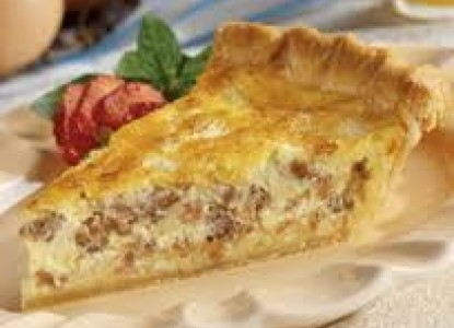 Recipe For Apple Sausage Cheddar Quiche | Bed and Breakfast Inns ...