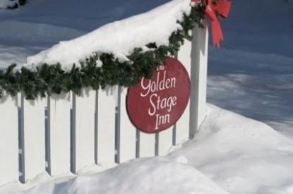Golden Stage Inn sign