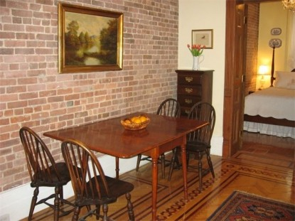 The West Townhouse dining table