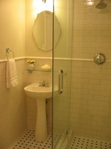 The West Townhouse shower