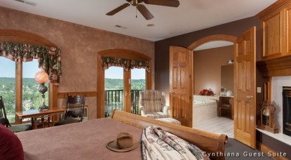 Hermann Hill Vineyard Inn & Spa, Riverbluff Cottages and Wedding Chapel-Cynthia Guest Suite