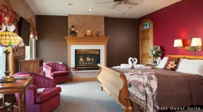Hermann Hill Vineyard Inn & Spa, Riverbluff Cottages and Wedding Chapel-Port Guest Suite