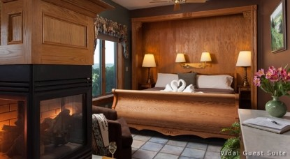 Hermann Hill Vineyard Inn & Spa, Riverbluff Cottages and Wedding Chapel-Vidal Guest Suite