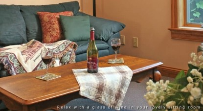 Hermann Hill Vineyard Inn & Spa, Riverbluff Cottages and Wedding Chapel-Seyval Guest Suite