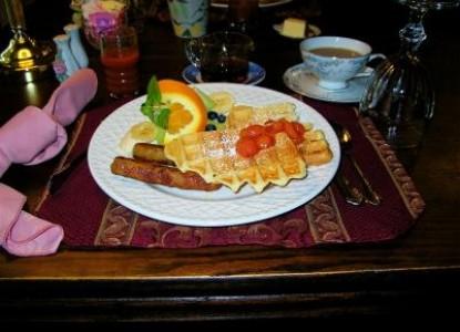 Back Creek Inn Bed & Breakfast, breakfast