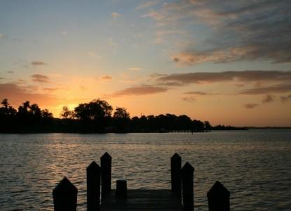 Back Creek Inn Bed & Breakfast, harbor sunset