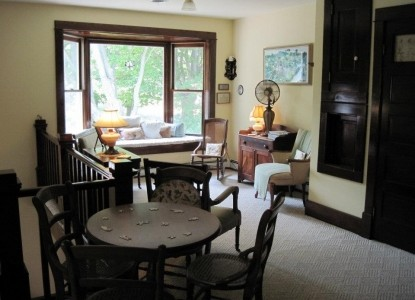 The Arcadia House Bed & Breakfast table