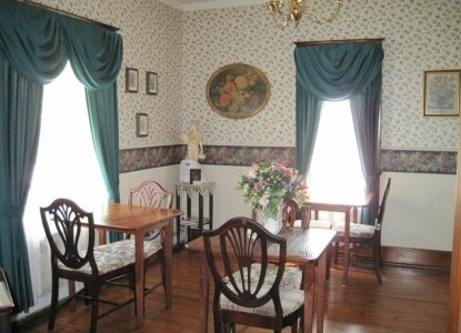 The Arcadia House Bed & Breakfast dining room
