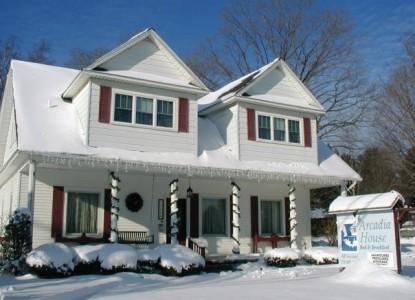 The Arcadia House Bed & Breakfast snow inn