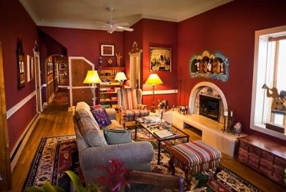 El Paradero Bed & Breakfast Inn living room