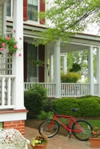 Bishop's House Bed and Breakfast bicycle