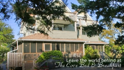 The Cove Bed & Breakfast, front view