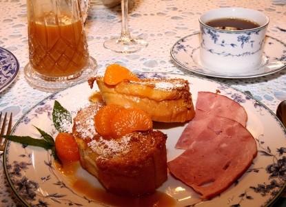 Bechtel Victorian Mansion Bed & Breakfast Inn food