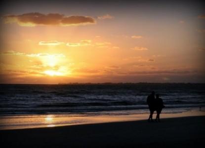 Silver Sands Villas and Resort, sunset