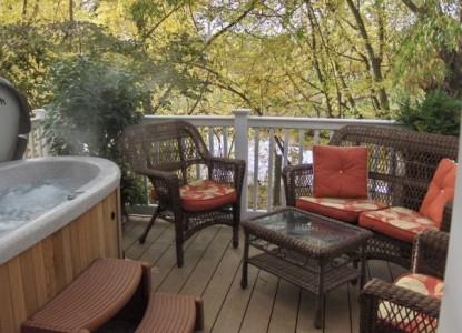 Inn at Blackberry Creek patio