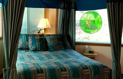 Artist's Studio Loft Bed and Breakfast bedroom