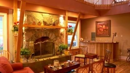Beliveau Estate, fireplace