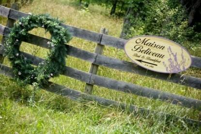 Beliveau Estate, fence