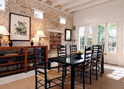 21 East Battery Bed and Breakfast dining table