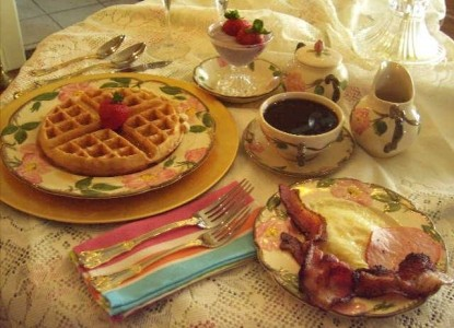 Lady Neptune Bed and Breakfast Inn - Breakfast