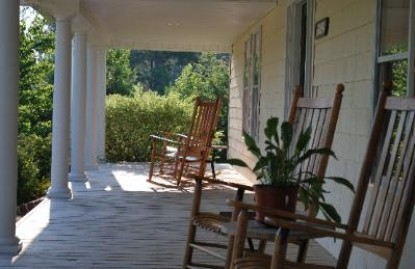 The Rose Bed & Breakfast, porch