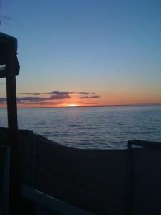 Bass Cottage Inn, sunset