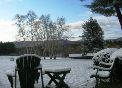1800 Devonfield Inn, an English Country Estate, winter snow