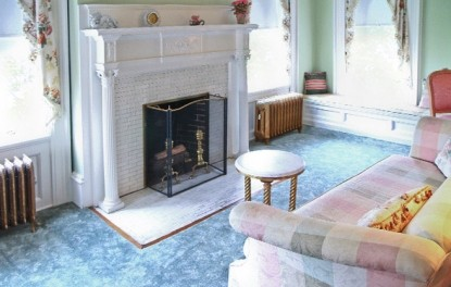 The Burgwin Write Jr. Suite, fireplace