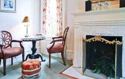 The de Rosset, fireplace